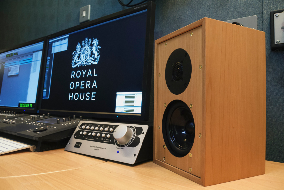 The Graham        Audio LS3/5 at the Royal Opera House