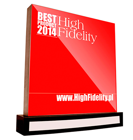 2014        High Fidelity award