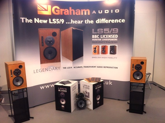 Graham Audio       demonstration room at the 2014 Munich High End show
